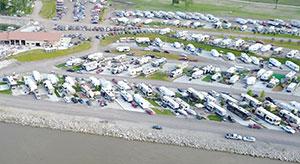 The Cottonwood Cove Marina RV Resort MM651